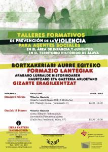 talleres formativos prevencion violencia escuela trabajo social
